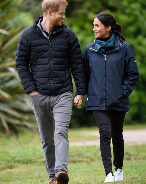 Harry and Meghan are making waves with their new foundation.