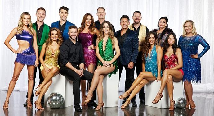 Channel Seven has revealed its complete line-up for *DWTS All Stars.*