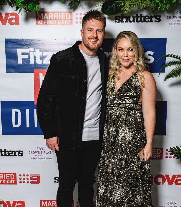 Bryce and Melissa appeared together and united at last night's event.