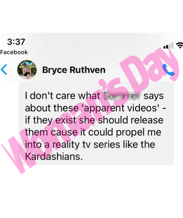 Bryce quipped about a potential sex tape landing him his own reality TV show.