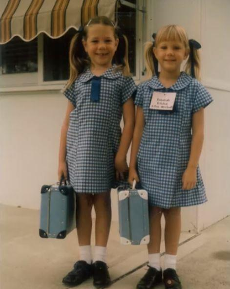 Kate Ritchie, on the left, grew up before Australia's eyes as a key character on *Home and Away*.
