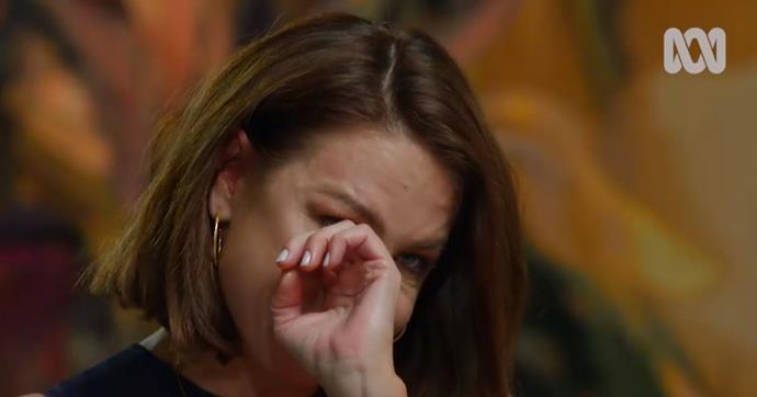 Kate's heartbreak was raw and real as she explained the reality of leaving the soap - and her long-running character.
