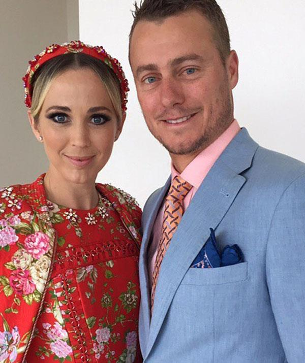 Bec and Lleyton have been married since 2005.