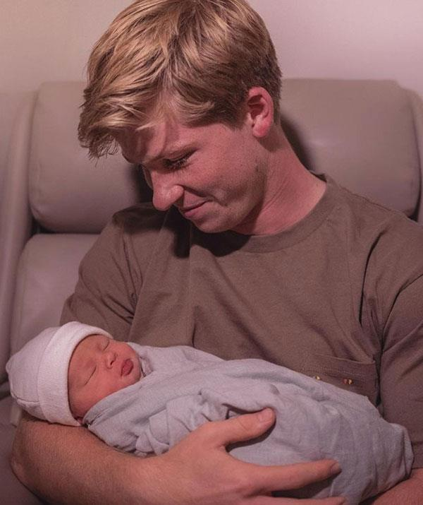 "Bindi's little brother Robert Irwin is a total natural when it comes to his uncle duties.  <br><br> ""Let the uncle adventures begin! Love you so much, Grace ❤️,"" Rob beamed of his new niece."