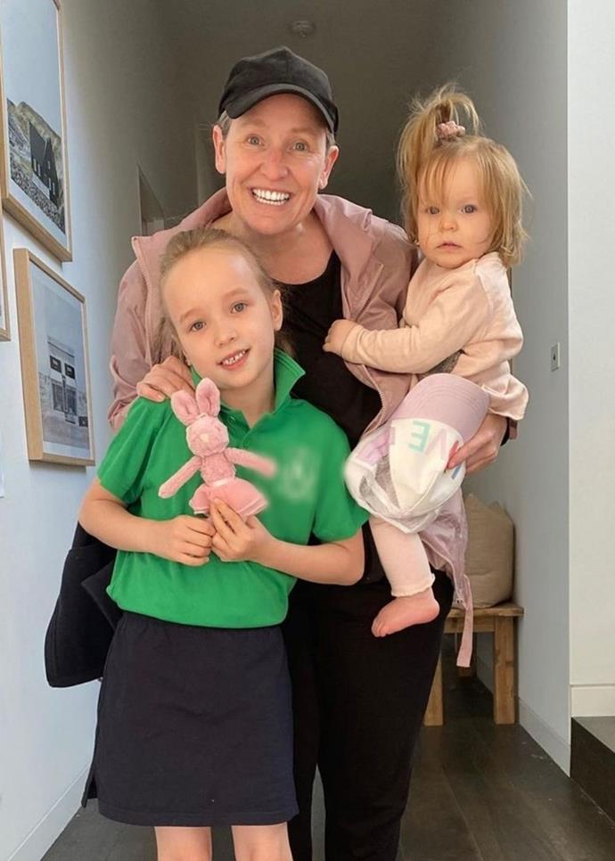 Fifi shares daughter Trixie with ex-partner Grant Kenny, and her youngest was conceived via IVF.