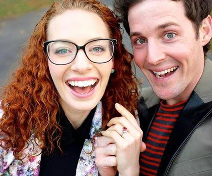 Just two-months after going public with their secret relationship, Lachlan Gillespie and Emma Watkins announced their engagement in November 2015.