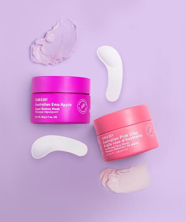 """Mum won't need a trip to the day spa with a beauty bundle this comprehensive. She'll be able to detox, nourish and glow with travel-sized masking heroes: Australian Pink Clay Porefining Face Mask and Australian Emu Apple Super Bounce Mask. <br><br>  ***Sand & Sky Mini Multi-Masking Kit, $80.80, [shop it here.](https://au.sandandsky.com/products/multi-mask-mini-kit