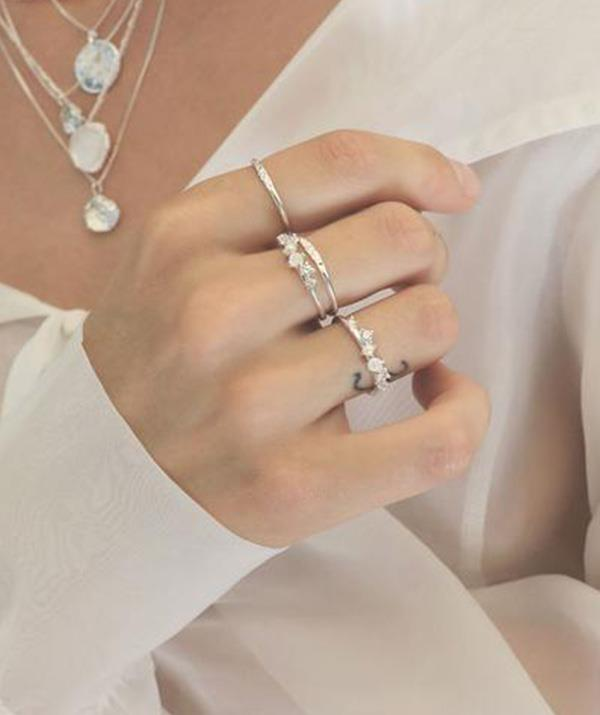 """Beware: The stunning dainty designs at Sit & Wonder will have you adding to cart over and over again, not just for mum, but for yourself, too. The jewellery brand offers gorgeous, modern pieces of impeccable quality (sterling silver, solid 9k gold and rose gold) for a great price point. <br><br>  ***Sit & Wonder Lumière ring in silver, $100, [shop it here.](https://www.sitandwonder.com.au/collections/all