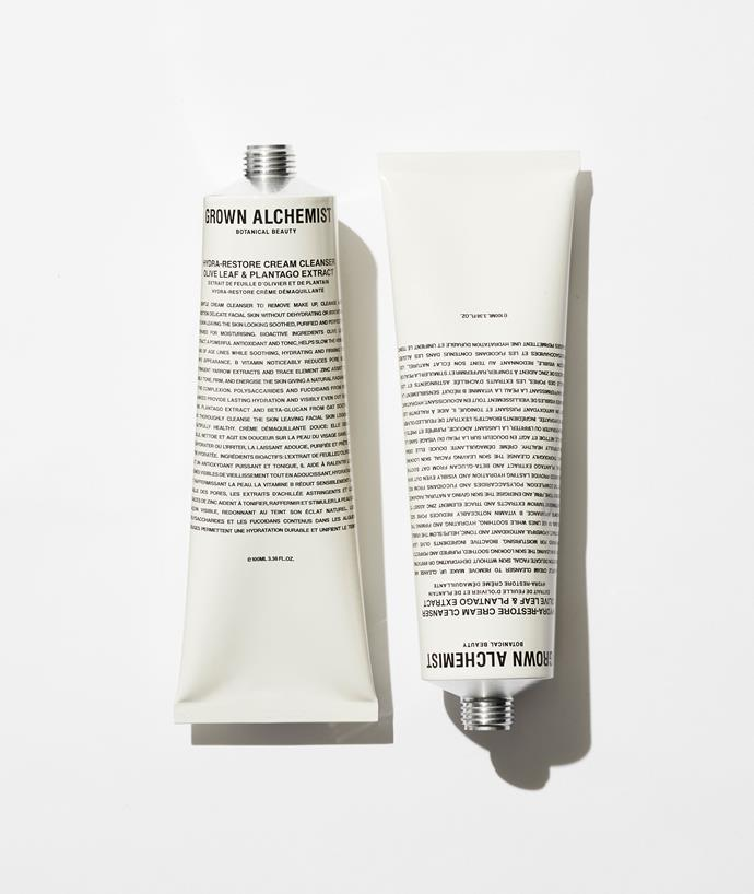 """Skincare is an important part of self-care and wellness, so your Mum will love the extra excuse of indulging in the ritual with a luxurious product or two. Cult beauty brand Grown Alchemist's best seller is this Hydra-Restore Cream Cleanser made with olive leaf and plantago extract. Sounds bougie enough for us, and for mum. $49, **[buy it online here](https://www.grownalchemist.com/au/best-sellers/hydra-restore-cream-cleanser-olive-leaf-plantago-extract.html