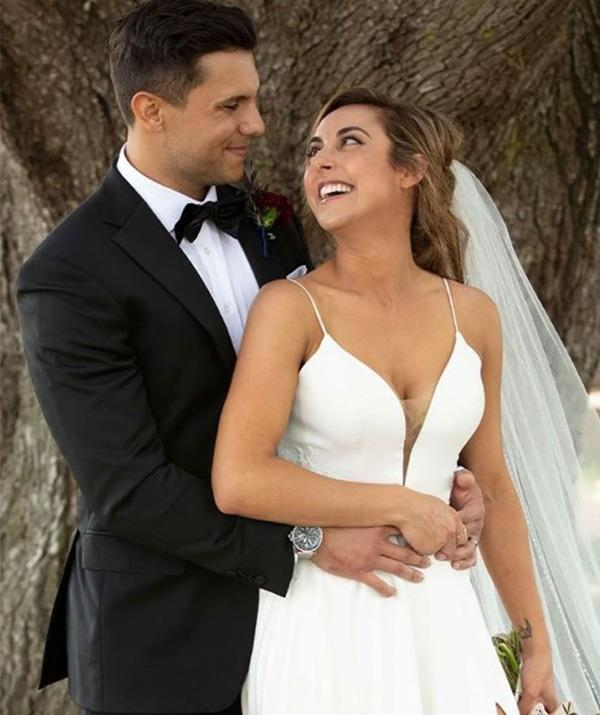 """**Johnny & Kerry – The new MAFS' darlings** <br><br> Intruders Johnny and Kerry basically became Booka and Brett 2.0 in the eyes of fans. <br><br> By all accounts the couple seem to be a perfect match and are giving us a glimmer of hope after the disaster of their counterparts. <br><br>  According to podcast *So Dramatic!*an inside source says they're still going strong. <br><br> """"I can confirm that Kerry and Johnny are still very much together,"""" host Megan revealed. <br><br> """"Johnny is actually an actor though, he was asked by a producer to go on the show and he did an audition; but, funnily enough, he and Kerry actually ended up working out."""""""