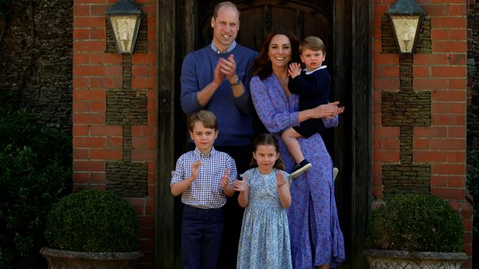 Make no mistake - every part of a photo opp is planned and styled carefully by the Duchess.