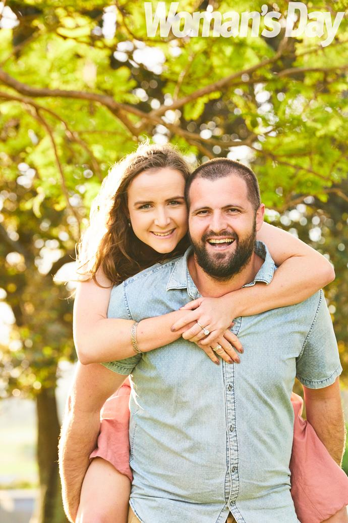The couple can't wait to plan a big wedding