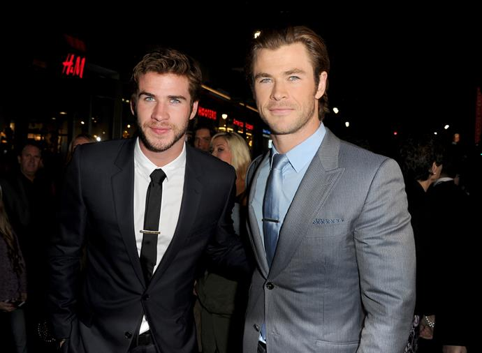 Are the Hemsworths at war?