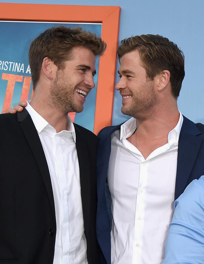 """""""Liam and Chris especially have been inseparable throughout their careers, but lately Liam hasn't seemed to be such a fixture among Chris' social circles,"""" says a source."""