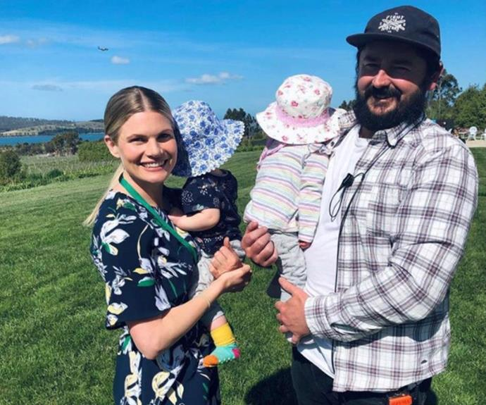 """**Bonnie Sveen **<br><br> Life at her home in the far south of Tasmania is very different since she left Home And Away in 2016. <br><br> Bonnie is mum to  identical twin girls Myrtle May and Emerald Lois with her partner Nathan Gooley, which we can only imagine is quite the handful. <br><br> While Bonnie says she """"adores"""" being a mum to her girls, it hasn't been easy. <br><br> """"Having a baby is a huge transition for most women,"""" she admitted to TV WEEK in 2020. <br><br> """"I'm going to be really frank. The first year was so hard; it was just something you can't prepare for. Energy-wise and physically, having two was a huge, huge thing for me."""" <br><br> Thankfully, with the help of her """"incredible and very hands-on"""" partner Nathan, who's an assistant director, and her family, she's now seeing the light at the end of the feeding, sleeping and nappy-changing tunnel! <br><br> """"When the girls turned one, I started to actually feel like myself again,"""" Bonnie admits. <br><br> """"I got little moments of freedom and trusted myself more as a parent."""""""