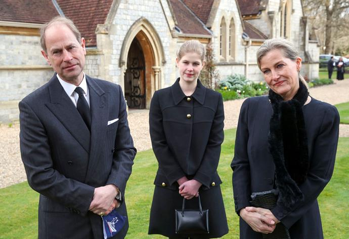 The Wessexes spoke to media outside The Royal Chapel of All Saints in Windsor on Sunday morning.