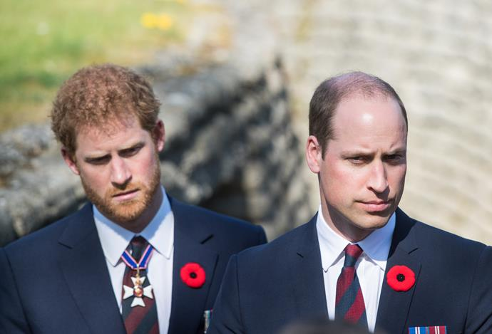 Harry and William will be dressed different for the funeral.