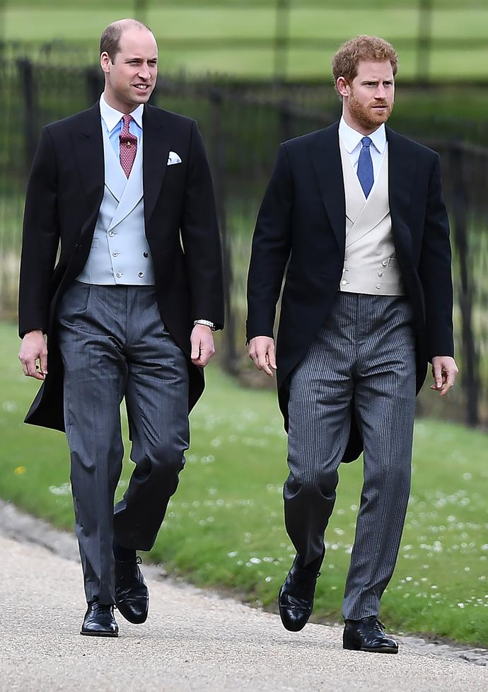 Harry and William shared a great amount of love for their grandfather.