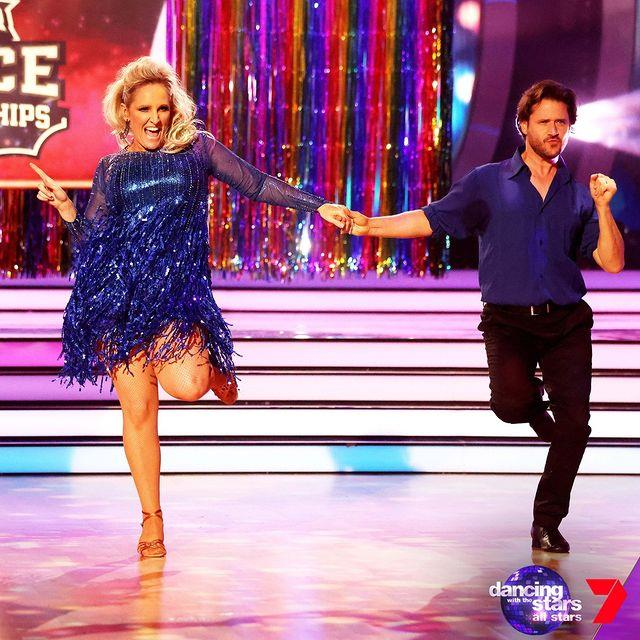Radio presenter Fifi Box was the first celeb to depart the show after scoring the lowest mark in her very first dance with partner Jeremy Garner.