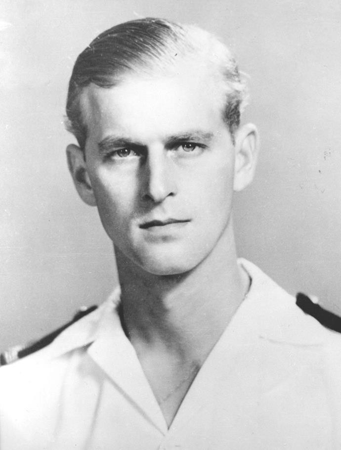 Philip served in the navy for a number of years before ending his naval career in 1951.