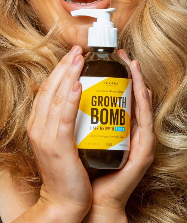 """**Growth Bomb** <br><br> Great hair is every mum's dream and you can gift it to them with the fabulous range from Growth Bomb. A potent formula charged with energy and rich in antioxidants to improve your scalp health, encourage hair growth and reduce hair fall. Plus, it smells heavenly sweet!  <br><br> ***Growth Bomb Hair growth shampoo and conditioner, $24.95 each, [shop it here](https://www.chemistwarehouse.com.au/buy/102449/growth-bomb-shampoo-300ml