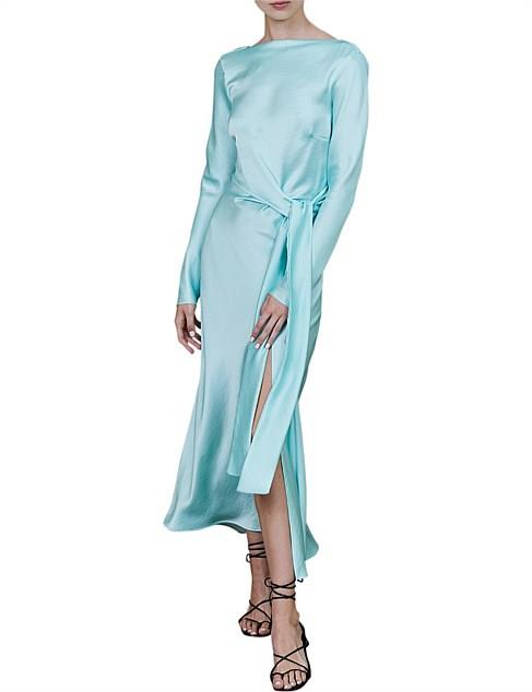 "Bec + Bridge agatha long sleeve midi dress, $169 (on sale, limited sizes). **[Buy it online via David Jones here](https://www.davidjones.com/Product/23539338|target=""_blank""|rel=""nofollow"")**"