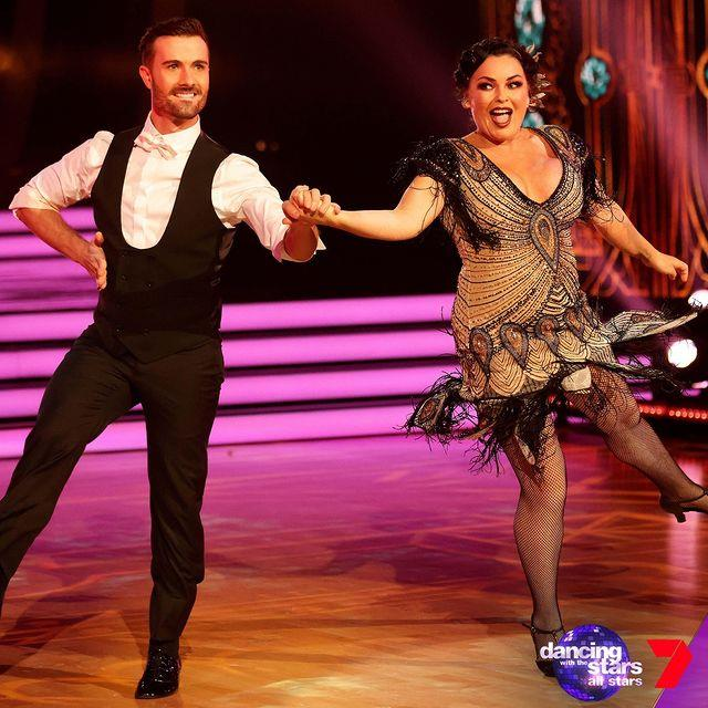 After a nail-biting dance off with Matty J, Schapelle Corby was the third to leave after her old-school charleston dance scored just a tad too low.