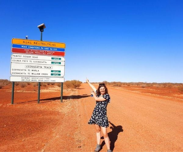 We loved exploring Australia.