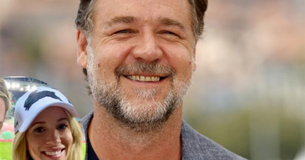 Down the aisle! Is Russell Crowe already thinking wedding bells with his new girlfriend, Britney Theriot?