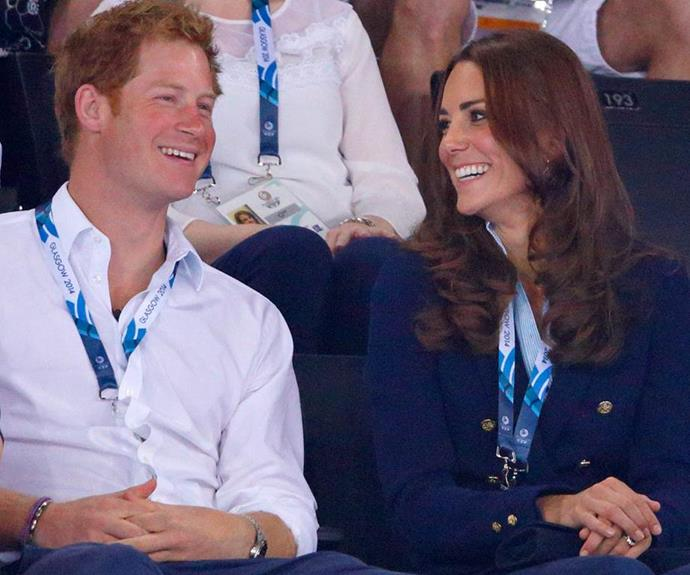 Prince Harry once described Kate as the sister he never had.
