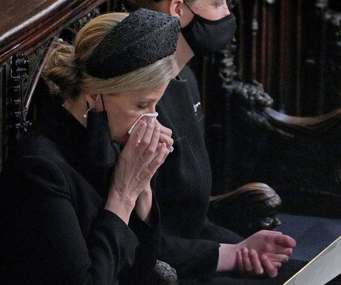 Sophie has reportedly been a pillar of strength and support for Her Majesty since Prince Philip's passing.
