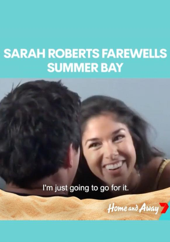 Sarah and James' fateful first encounter was caught on camera.