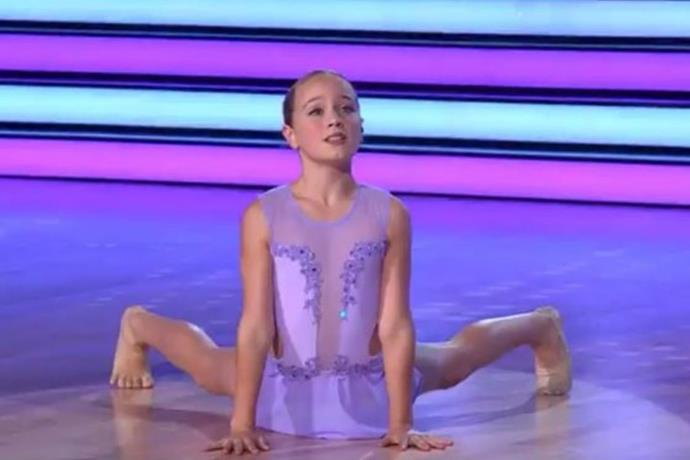 Ava Hewitt got 10s all round for her performance.
