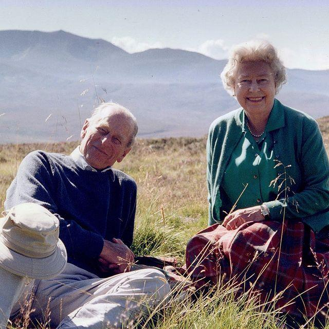 The Queen and Prince Philip were married for 73 years.
