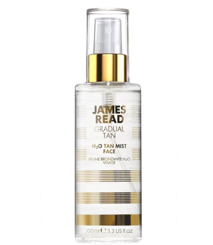 """The James Read face tanner is actually totally clear (so mess free, which is a game changer) but that is not the only reason it is unique, it is also, unusually a spray. It is recommended to use this product 2-3 times a week but holding the bottle around 15 cm from your face and then spraying it evenly and quickly. This fuss-free alternative also includes luxurious ingredients like rose water, vitamins and minerals that work to hydrate and minimise signs of ageing.  <br><br> [James Read Tan, $40.00](https://www.mecca.com.au/james-read-tan/h2o-tan-mist-face/I-024732.html
