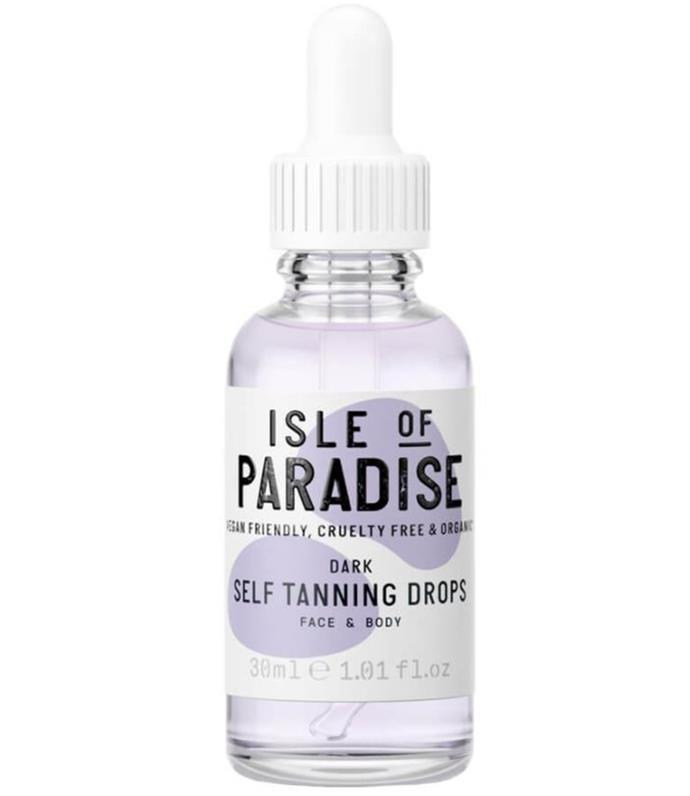 """This range of tanning drops offers a total of 12 different shades so you can achieve the exact look you want. It is also great for sensitive skin because the hypoallergenic ingredients help activate the best pH level for skin. Other ingredients like Coconut Oil, Chia Seed Oil, and Avocado Oil help to moisturise, sooth, reduce inflammation and nourish skin - they also allow the tan to last longer! <br><br> [Isle Of Paradise Self-Tanning Drops, $40.00](https://www.mecca.com.au/isle-of-paradise/self-tanning-drops/V-035820.html