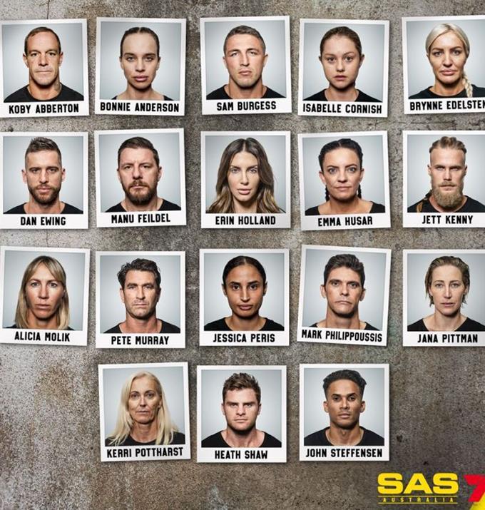 The official SAS cast class photo.