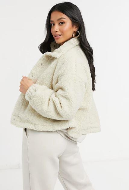 "For our petite pals, a crop borg jacket looks good and feels even better. And if you're tall, this ASOS Design style will also look chic ultra-cropped - just make sure you go up a size or two. $70. **[Buy it online here](https://www.asos.com/au/asos-design/asos-design-petite-fleece-cropped-jacket-in-camel/prd/22275537?colourwayid=60386363&cid=8353|target=""_blank""