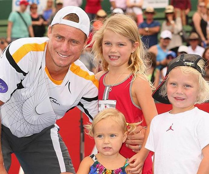 Bec and Lleyton share three gorgeous kids.