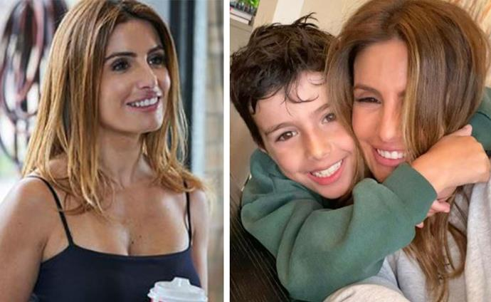Following in mum's footsteps: She's played Leah Patterson on *Home And Away* for over 20 years and now, Ada Nicodemou's son Johnas wants to be an actor, too.