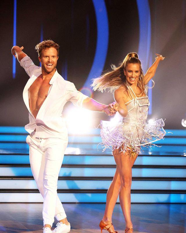 """Pipped at the post and just missing out on the grand finale was TV host Renee Bargh. """"I'm bummed I didn't get to do one more dance,"""" she told *TV WEEK* the morning after her shock elimination."""