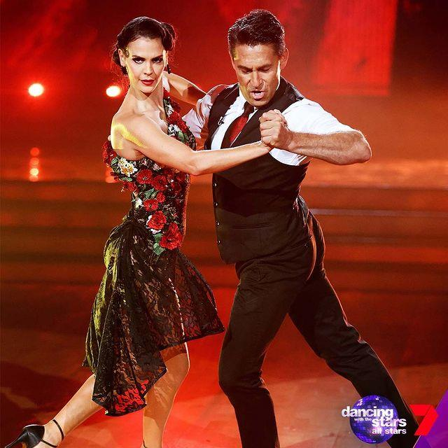 Jamie Durie was also sent home just before the grand finale after a red hot go at the tango.