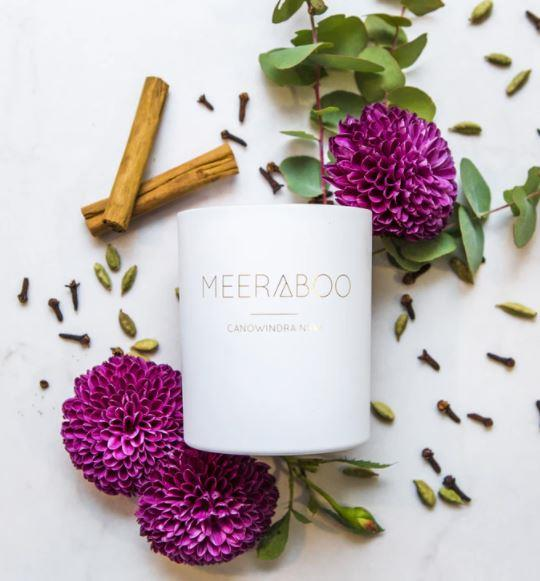 """Family-owned Aussie brand Meeraboo specialises in homemade soy candles that look gorgeous, and smell even better. With scents including salted caramel or strawberry and champagne, there's a candle here for every mum. [Shop them online here](https://www.buyfromthebush.com.au/s/-/meeraboo