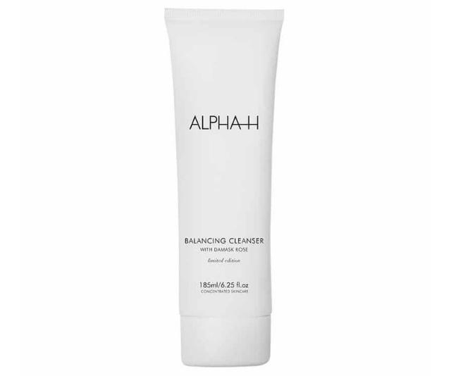 "**We love gentle yet creamy Alpha-H Balancing Cleanser, $37.95, [shop it here.](https://www.adorebeauty.com.au/alpha-h/alpha-h-balancing-cleanser.html?queryID=cf5f8e3d5ea826b3594a0e9735c0c115 target=""_blank"")**"