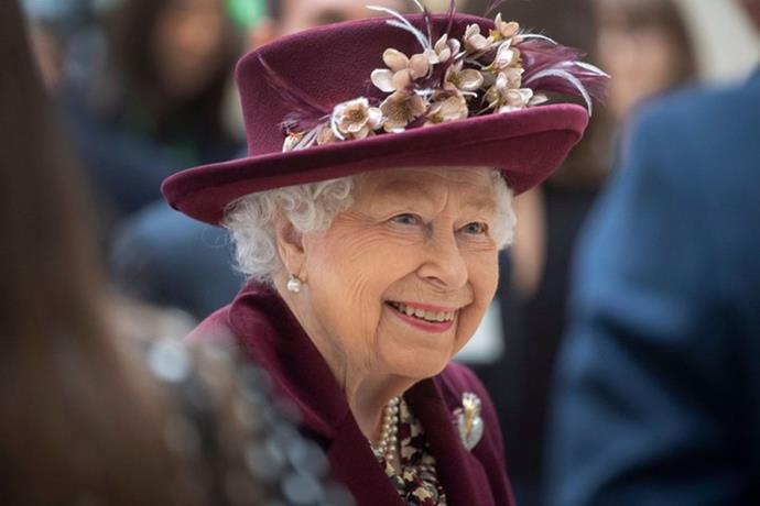 Buckingham Palace also shared this photo of the Queen for her 95th birthday.