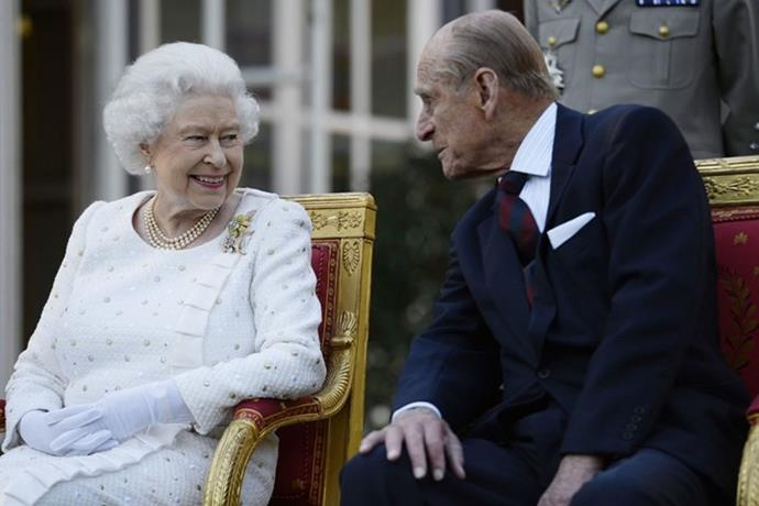The Queen's usually birthday commemorations have been cancelled as it falls in the royal mourning period.