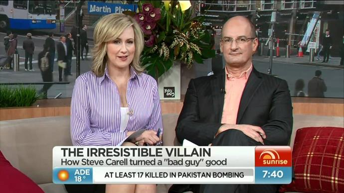 Mel and Kochie during the early days of their co-hosting duties.