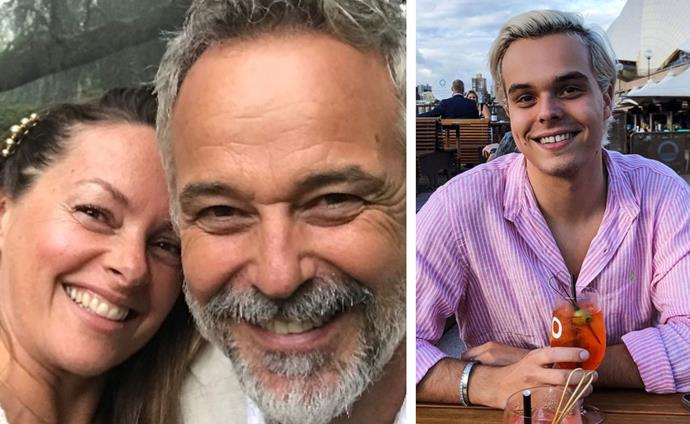 Cameron and Ali Daddo's little boy is all grown up!
