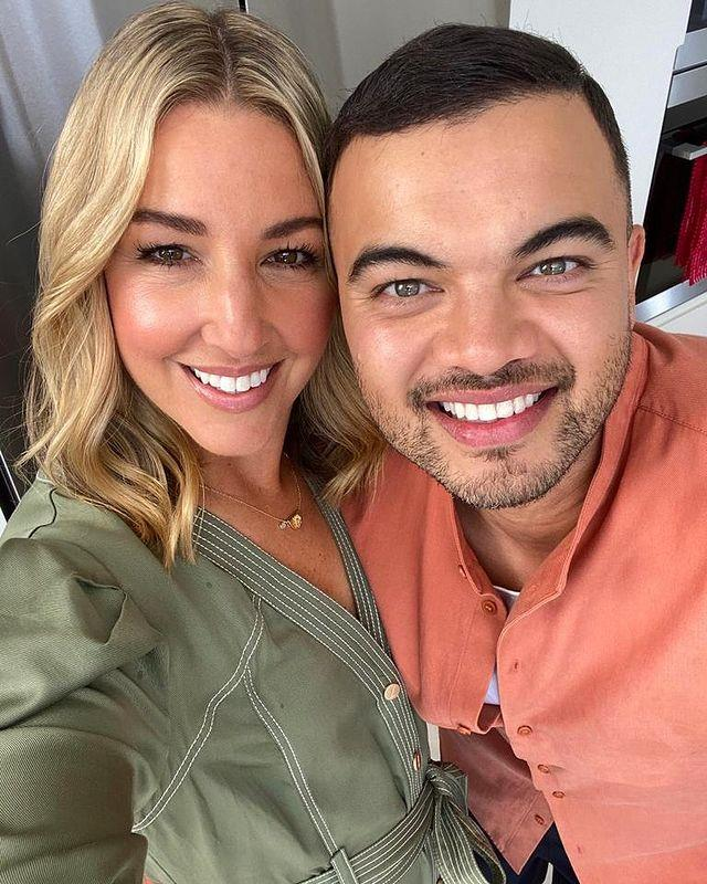 Guy Sebastian recorded an entire song for Jules last Mother's Day.
