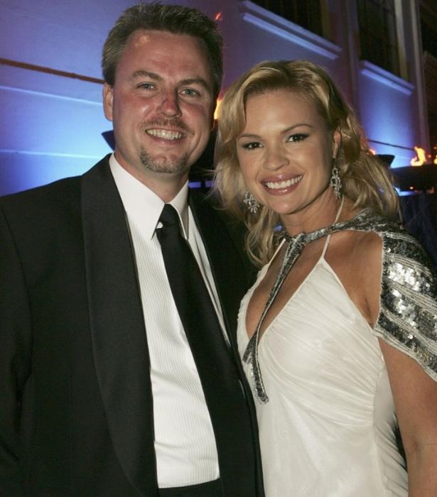 Sonia split from James in 2008.